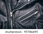 leather jacket - stock photo