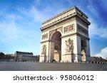 arc de triomphe   paris   france | Shutterstock . vector #95806012