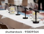 indoor business conference for... | Shutterstock . vector #95809564