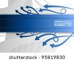 abstract vector business... | Shutterstock .eps vector #95819830