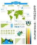 eco infographics | Shutterstock .eps vector #95823499