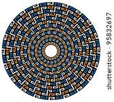 Circular Geometric Maya...