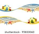 summer beach banners   Shutterstock .eps vector #95833060