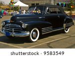 a classic 40s chevy convertible ...   Shutterstock . vector #9583549