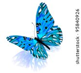Stock photo butterfly isolated on white background 95840926