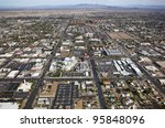 downtown mesa  arizona aerial...   Shutterstock . vector #95848096