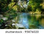 The River Ceou  Dordogne ...