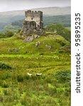 dolwyddelan  castle in...