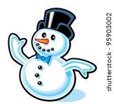 snowman | Shutterstock . vector #95903002