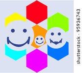 family | Shutterstock .eps vector #95936743
