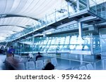 waiting room   place in airport | Shutterstock . vector #9594226