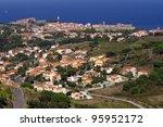 Vermilion Coast of France - stock photo