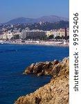 Marseille shore, France - stock photo