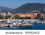 Marseille port, France - stock photo