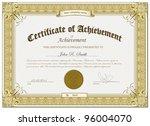 vector illustration of gold... | Shutterstock .eps vector #96004070