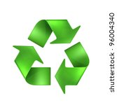 recycling  vector | Shutterstock .eps vector #96004340