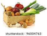 Fresh Assorted Vegetables In A...
