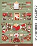 business interesting... | Shutterstock .eps vector #96023930
