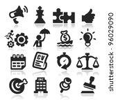 business concepts icons set...
