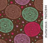 funny seamless pattern | Shutterstock .eps vector #96052844