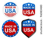 4 Stickers   Made In Usa....