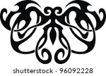 the stylized image of the... | Shutterstock .eps vector #96092228