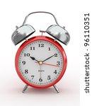 ten o'clock. old fashioned... | Shutterstock . vector #96110351