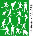 baseball players | Shutterstock .eps vector #96118568