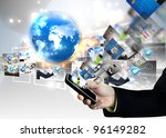 business world | Shutterstock . vector #96149282