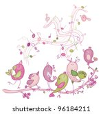 Cute Singing Birds For Easter'...