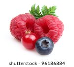 Ripe berries . Use it for a health concept. - stock photo