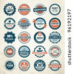 collection of premium and high... | Shutterstock .eps vector #96192197