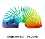 colorful kid toy | Shutterstock . vector #962098