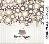 menu for restaurant  cafe  bar  ... | Shutterstock .eps vector #96227927