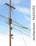 The Complex Of Telegraph Pole...