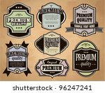 collection of premium quality... | Shutterstock .eps vector #96247241