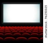 cinema auditorium with screen... | Shutterstock .eps vector #96250325