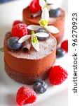 chocolate dessert | Shutterstock . vector #96270923