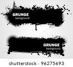 grunge banner backgrounds in... | Shutterstock .eps vector #96275693
