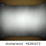 steel template with copy space  ... | Shutterstock . vector #96281672