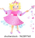 this is fairy princess  with...   Shutterstock .eps vector #96289760