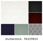 vector seamless pattern  six... | Shutterstock .eps vector #96319814