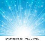 blue sky background. vector... | Shutterstock .eps vector #96324983