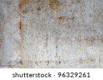 old rusty metal background. | Shutterstock . vector #96329261