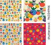 seamless pattern | Shutterstock .eps vector #96334946