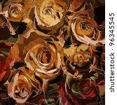 Art Roses Vintage Autumn...