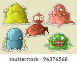 Aliens Monsters Set