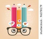 be creative | Shutterstock .eps vector #96378179