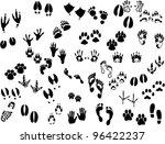 footprint | Shutterstock .eps vector #96422237