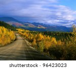 Yukon - Dempster Highway in the fall, Canada